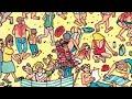 Фрагмент с средины видео - Где Уолли? 2 уровень. Where's Wally? 2 level