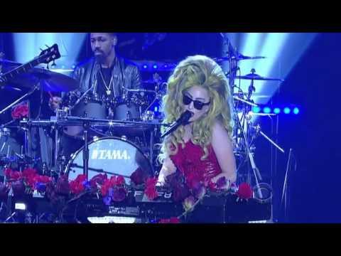 Lady Gaga & Bill Murray Letterman 2014 04 02 HQ