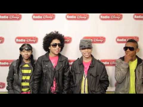 MINDLESS BEHAVIOR Talk Justin Bieber and Willow Smith during Radio Disney Takeover!