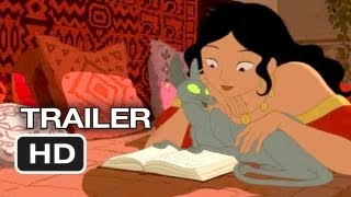 The Rabbi's Cat Official US Release Trailer (2011) - Animated Movie HD