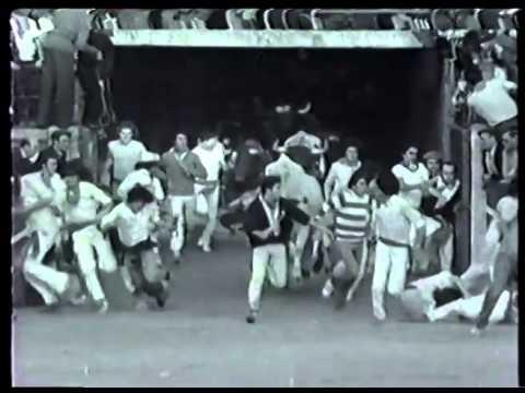 Encierro San Fermin Pamplona del dia 10 7 1979 Martinez Elizondo