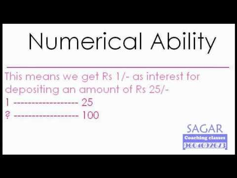 Maths Word Problems : COMPOUND INTEREST - Sagar Coaching Classes