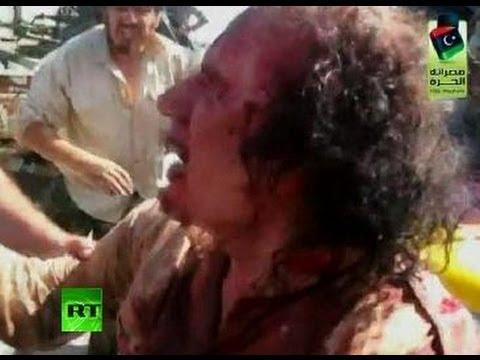 Killing P.O.W.? Video of Gaddafi-s last moments