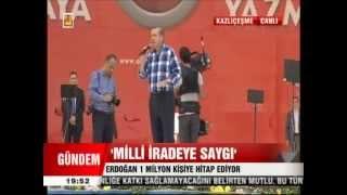 AK Parti Kazlıçeşme Mitingi