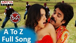 A To Z Full Song ll King