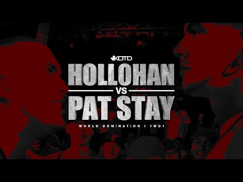 KOTD - Rap Battle - Hollohan vs Pat Stay