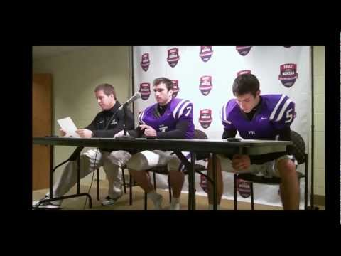 Porter Ridge Pirates Postgame Press Conference- Dec. 3, 2011