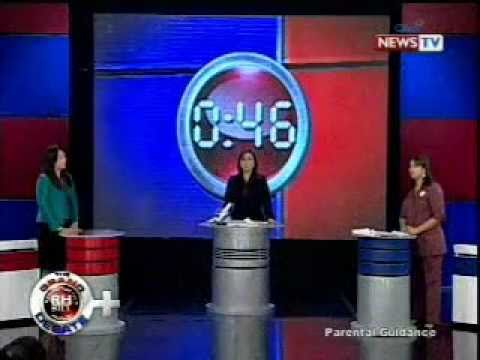 GMA7 RH-Bill Debate (after the debate majority votes in favor to the Anti-RH)
