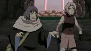 ini dia perjuangan Sakura dan Nenek Chiyo vs Sasori part 3