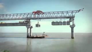 Ponte Anita Garibaldi em Laguna Santa Catarina