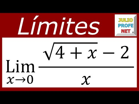 Solución de un Límite usando Conjugación