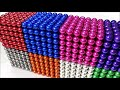 Фрагмент с начала видео Playing with Magnetic Balls, Satisfaction 100%