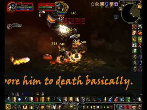 WoW: Protection Paladin solo Garr   MC guide (written)