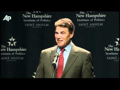Raw Video: Perry Confuses Voting Age in N.H.