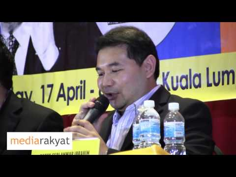 Rafizi Ramli: Education Is A Priority, A Paramount Emphasis Of Pakatan Rakyat.