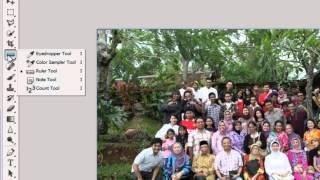 Belajar Photoshop : Meluruskan Foto (Fungsi Tersembunyi)