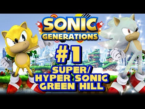 Super/Hyper Sonic Generations - (1080p) Green Hill Zone