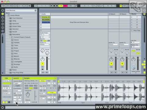 Ableton Live 8 - Clip Playback Automation