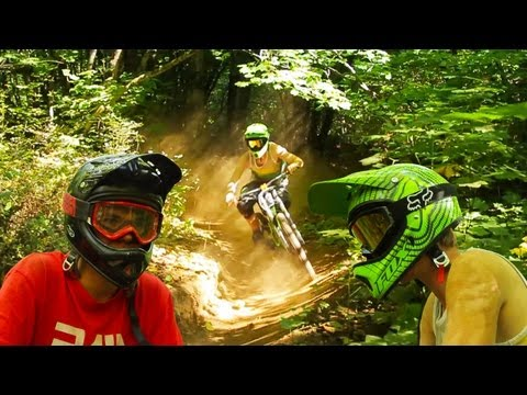 Freeride Mountain Biking - Berms Berms Berms!