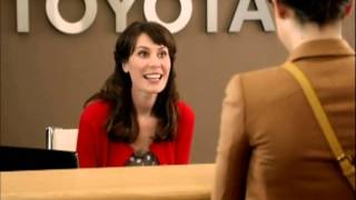 no to flo but i d bang jan the receptionist on the toyota commercials