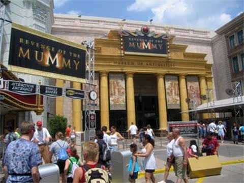 Revenge of the Mummy  on-ride POV Universal Studios Florida