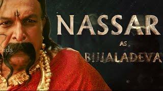 Nasser as Bijjaladeva AV | Baahubali