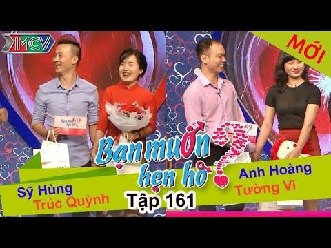 BẠN MUỐN HẸN HÒ – Tập 161 | Sỹ Hùng – Trúc Quỳnh | Anh Hoàng – Tường Vi | 24/04/2016
