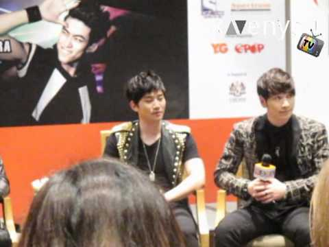 2PM Hands Up Asia Tour Malaysia Press Conference