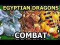 MUMMY Dragon SPHYNX Dragon and PHARAOH Dragon COMBAT Attacks at Level 23