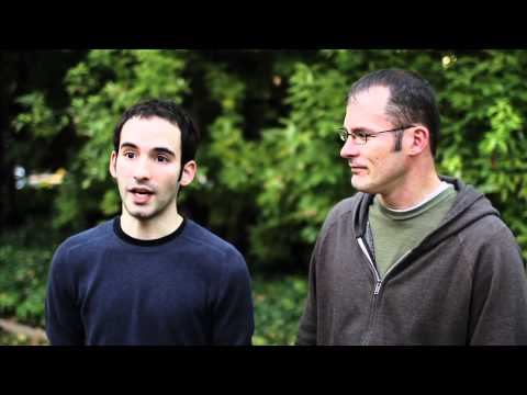 Edmodo founders, Nic Borg and Jeff O'Hara