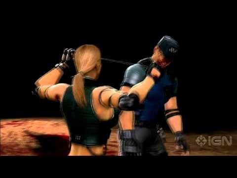 Mortal Kombat: Sonya Fatalities