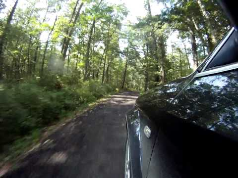 Audi allroad dirt road driving VA