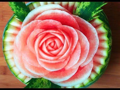 Cách Trình Bày Hoa Từ Trái Cây – Tập 15
