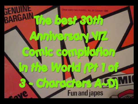 The best 30th Anniversary VIZ Comic compilation in the World (Pt 1 of 3 - Characters A~D)