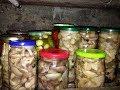 Маринованные грибы рецепт /  Заготовки на зиму