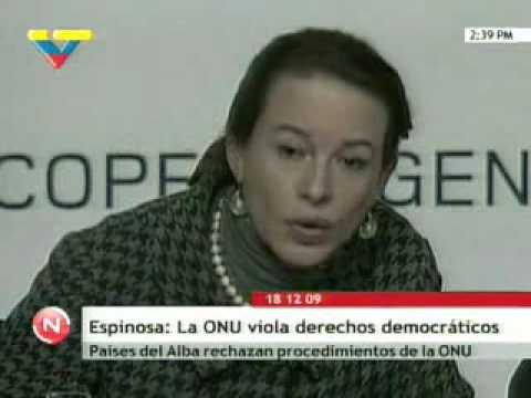Ministra María F. Espinosa