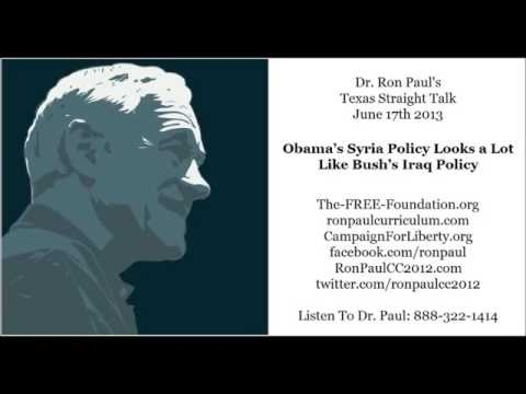 Barack Obama's Syria Policy Looks a Lot Like Bush's Iraq Policy