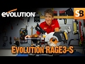 Using the Evolution RAGE3-S Compound Mitre Saw