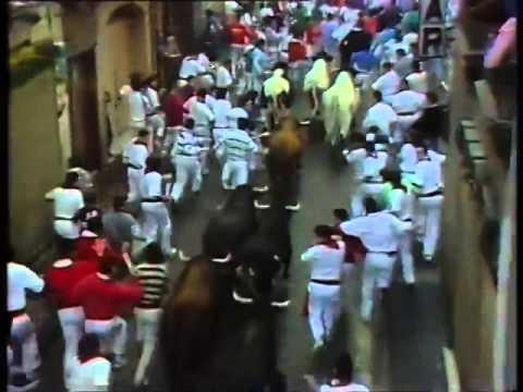 Encierro San Fermin Pamplona del día 12 7 1989 RE