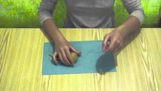 Como hacer un gusanito marioneta