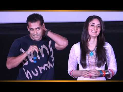 FIRST LOOK Launch - Bodyguard - Salman Khan &amp; Kareena Kapoor