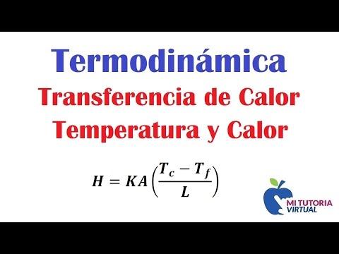 Video 024 - Problema de Aplicacion Transferencia de Calor - Temperatura y Calor -wylBxK9Xq4I