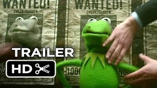Muppets Most Wanted Official UK Trailer (2014) - Tina Fey Movie HD