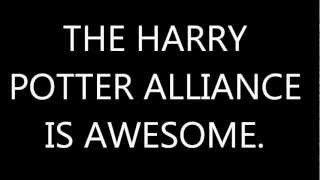 Project for Awesome- Harry Potter Alliance.
