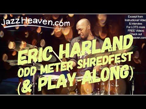 Jazz Drum Extreme: Eric Harland Odd Meter SHREDFEST! ;) Jazz Heaven.com Instructional Video