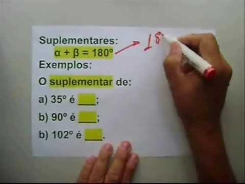 """Ângulos """"Classificação, Medidas e Correspondências"""""""