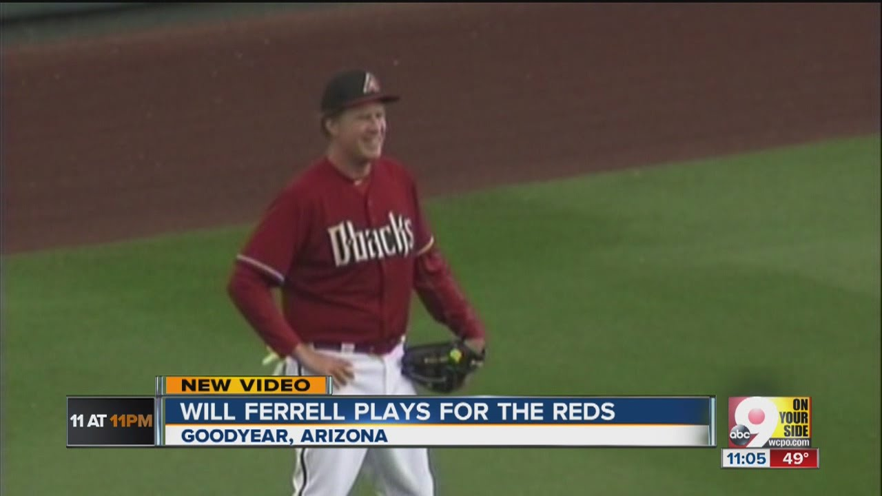 Will Ferrell plays for the Reds