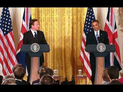 President Obama and Prime Minister Cameron Hold a Press Conference