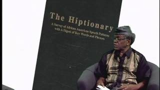 Professor El-Kati discusses his latest book The Hiptionary with Patricia Crumley Part 4- 8/2/2010