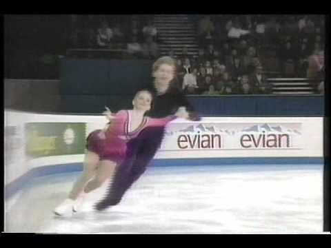 Meno & Sand (USA) - 1995 World Figure Skating Championships, Pairs' Free Skate
